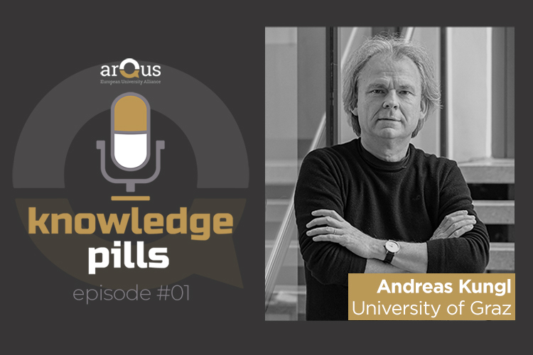 Arqus Knowledge Pills and the picture of Andreas Kungl