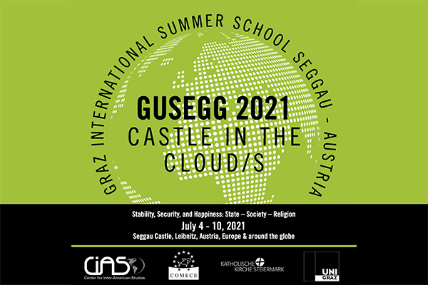 poster of the activity with the title of the summer school